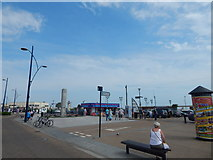 TG5307 : Road off Marine Parade by Hamish Griffin