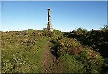 SX3771 : Chimney, Kit Hill by Derek Harper