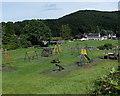 SO5300 : Children's playground in Tintern by Jaggery