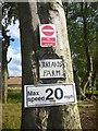NT4969 : East Lothian Farm Signs : Kirklands Farm, Near Gifford by Richard West