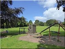 ST1004 : Children's playground, Broadhembury by David Smith