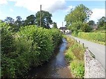 ST0904 : River Tale at Broadhembury by David Smith
