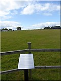 ST1006 : Commemorative plaque at the gliding club by David Smith