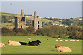 SW6638 : Fortescue's pumping engine and whim houses - Wheal Grenville by Chris Allen