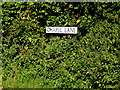 TM1341 : Chapel Lane sign by Geographer