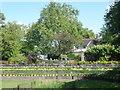 TQ4084 : In the Ornamental Garden at West Ham Park by Marathon