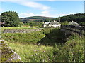 NY6293 : Road bridge over Cat Cleugh, Kielder by Andrew Curtis