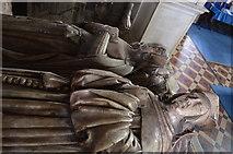 SO5924 : Effigies of William and Anne Rudhale, St Mary's church, Ross on Wye by Julian P Guffogg