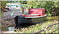 J3369 : Restored Lagan canal barge, Belfast - August 2014(1) by Albert Bridge
