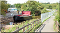 J3369 : Restored Lagan canal barge, Belfast - August 2014(2) by Albert Bridge