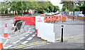 J3774 : The Belmont Church Road (closed) (August 2014) by Albert Bridge