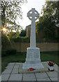TL3770 : Over war memorial by Hugh Venables