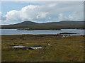 NF8472 : Old peat workings by Loch nan Geireann by John Allan