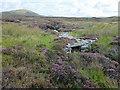 NF8372 : Stone bridge over the Abhainn na Beinne Duibhe by John Allan
