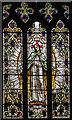 TQ7237 : Stained glass window, St Mary's church, Goudhurst by Julian P Guffogg