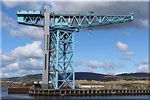 NS4969 : Titan Crane, Clydebank by Leslie Barrie