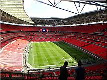 TQ1985 : Wembley Stadium by Ashley Martin