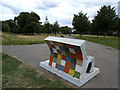 TQ3977 : Elmer the Elephant (back) by Stephen Craven