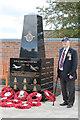 TF4480 : War Memorial, Strubby by J.Hannan-Briggs