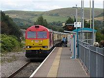 SS8591 : Railtour at Maesteg by Gareth James