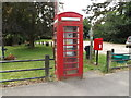 TM0536 : Telephone Box & Holton St.Mary Postbox by Adrian Cable