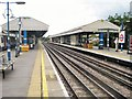 TQ2178 : Turnham Green Underground station, Greater London by Nigel Thompson