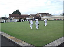 ST3359 : St. Andrews Bowls Club by andrew auger