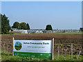 TQ2861 : Sutton Community Farm, Little Woodcote Estate by Robin Webster