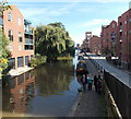 SJ4166 : East along the Shropshire Union Canal, Chester by Jaggery
