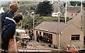 NG1599 : Ferry terminal at Tarbert in the 1970s by eswales