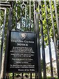 TQ3081 : Entrance to Gray's Inn Gardens, London WC1 by Christine Matthews