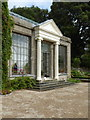 SW8339 : The entrance to the conservatory at Trelissick House by Rod Allday