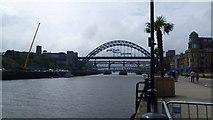 NZ2563 : The Tyne Bridge by Jeremy Bolwell