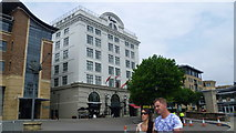 NZ2564 : The Malmaison Hotel in Newcastle Quayside by Jeremy Bolwell