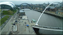 NZ2563 : The Tyne viewed from the Baltic Centre by Jeremy Bolwell
