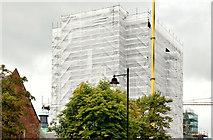 J3372 : Former library, Queen's University, Belfast - August 2014(2) by Albert Bridge