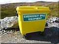 NN9345 : Spill kit, Griffin wind farm by Richard Webb