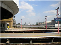 TQ3280 : Across the platforms at London Cannon Street (2) by Richard Vince