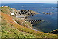 SW7011 : Lizard lifeboat station from Polpeor Cliff by Bill Boaden