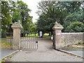 SJ9090 : Entrance to Vernon Park by Gerald England