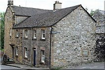 SK2168 : Buildings on the corner of Church Alley Bakewell by Ann Causer