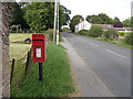 SK8073 : Ragnall postbox ref NG22 167 by Alan Murray-Rust