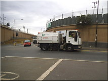 TQ3084 : York Way at the junction of Freight Lane by David Howard