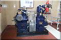 TQ8117 : Brede Pumping Station - steam compressor by Chris Allen