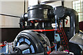 SN7803 : Cefn Coed Colliery Museum - air compressor by Chris Allen