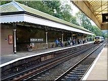 SD9926 : Hebden Bridge railway station by Graham Hogg