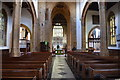 ST3614 : Interior, St Mary's church, Ilminster by Julian P Guffogg