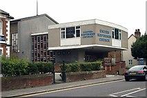 TQ2160 : Epsom United Reformed Church by Jim Osley