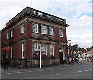 SK4003 : Former bank building in Market Bosworth by Jaggery