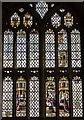 SO7740 : East Window, Little Malvern Priory by Julian P Guffogg